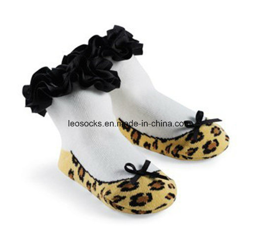 2016 Wholesale Lovely Soft 3D Fancy Anti-Slip Cotton Baby Socks