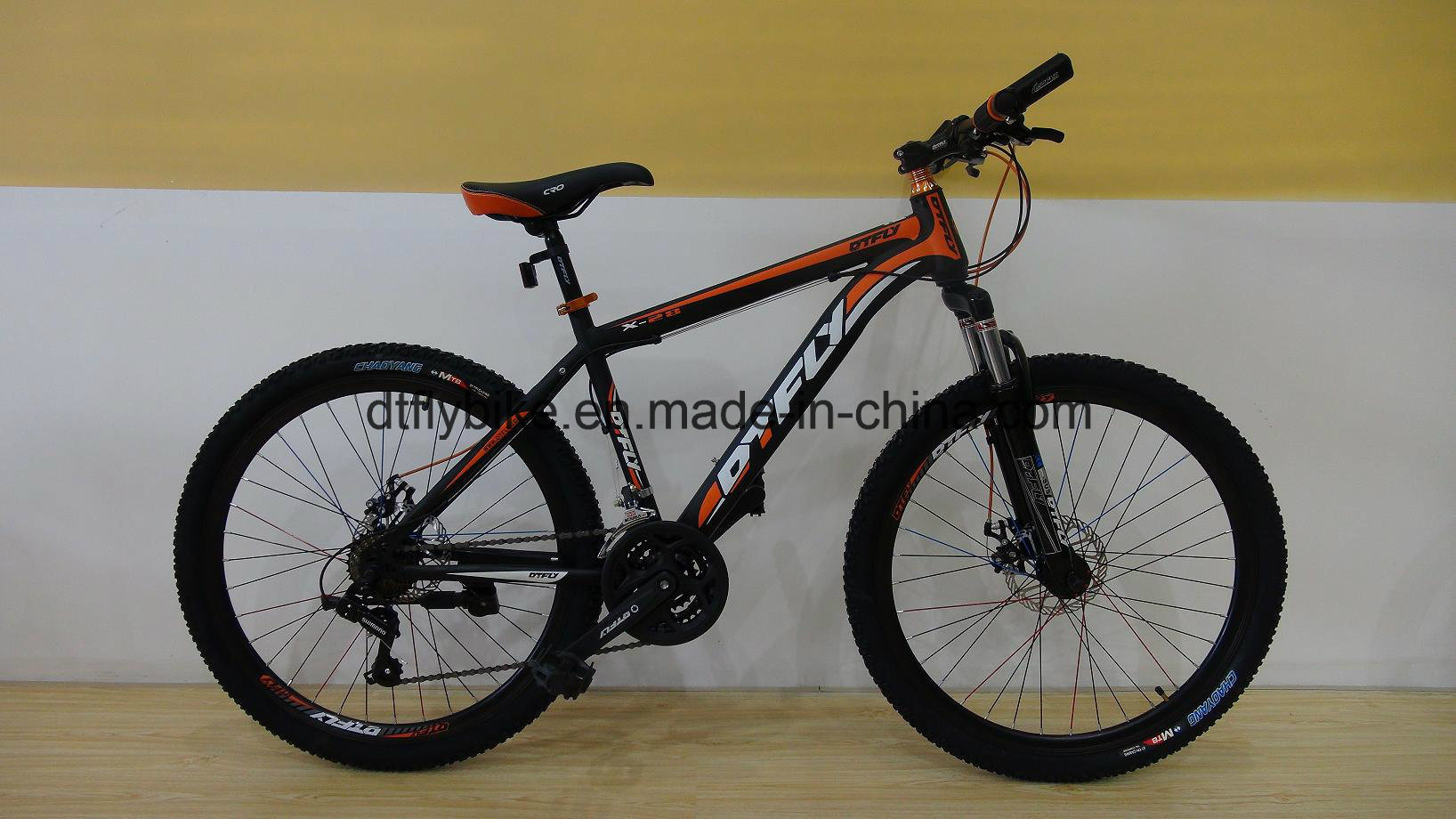 "Bike,26"" Hongze Num2, Mountain Bike, with Shimano 21s, Disc-Brake"