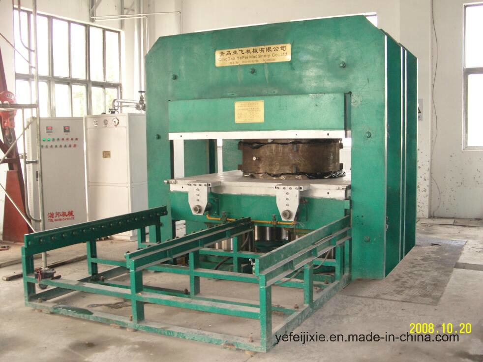 Vulcanizing Press Vulcanizer Rubber Plate Moulding Machine