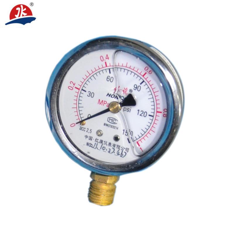 60mm 100mm 150mm Oil Filled Pressure Gauges