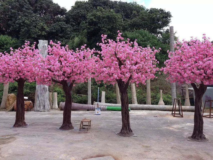 Artificial Plants and Flowers of Cherry Tree 3.6m