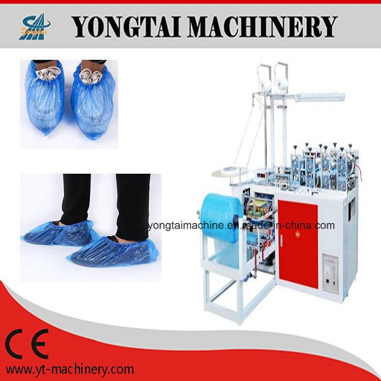 Cheap Price Disposable PE Plastic Shoe Cover Making Machine