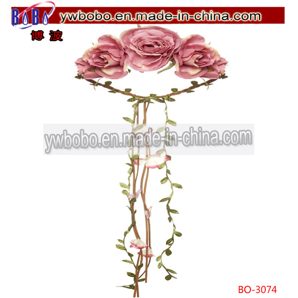 Artificial Fake Daisy Flower Bouquet Wedding Party Home Decor Craft (BO-3080)
