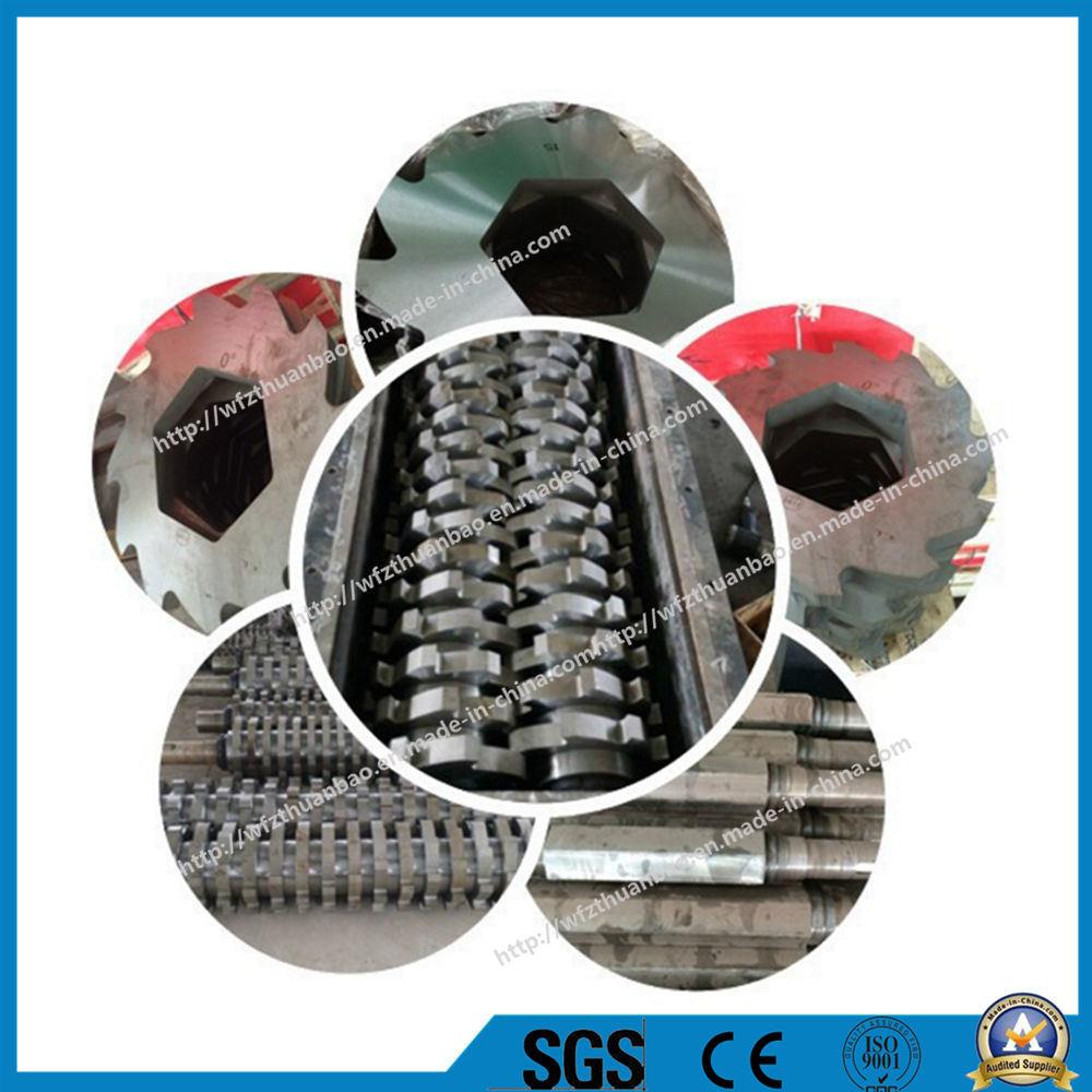 OEM Accepted Plastic/Wood/Tire/Animal Bone/Scrap Metal/Foam/Municipal Solid Waste Crusher Shredder Factory