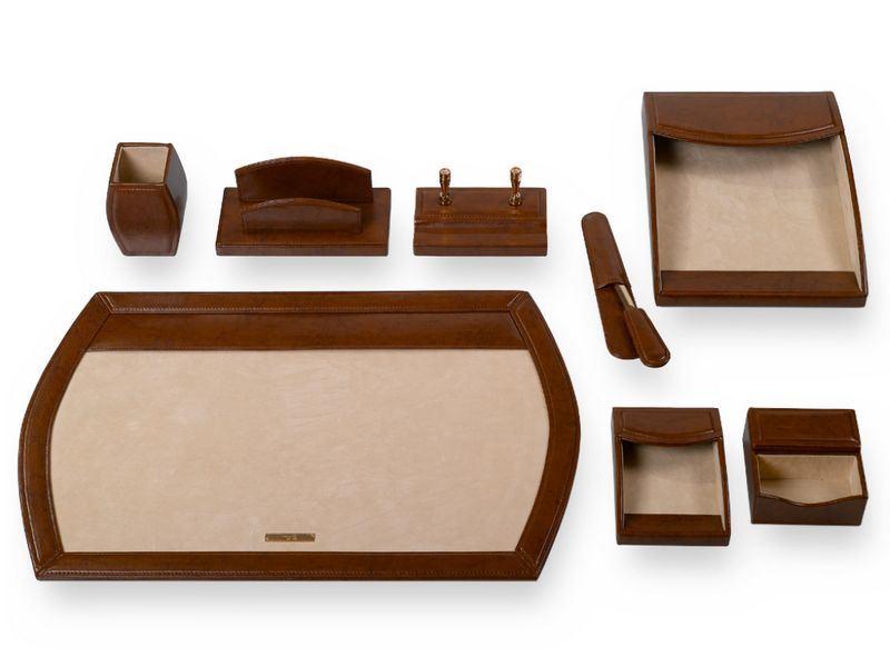 Executive Desk Set-Brown (B4101) - China Executive Desk Set, Desk Set