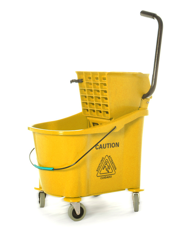Traditional Mop Wringer Trolley 36L (YYB-33)
