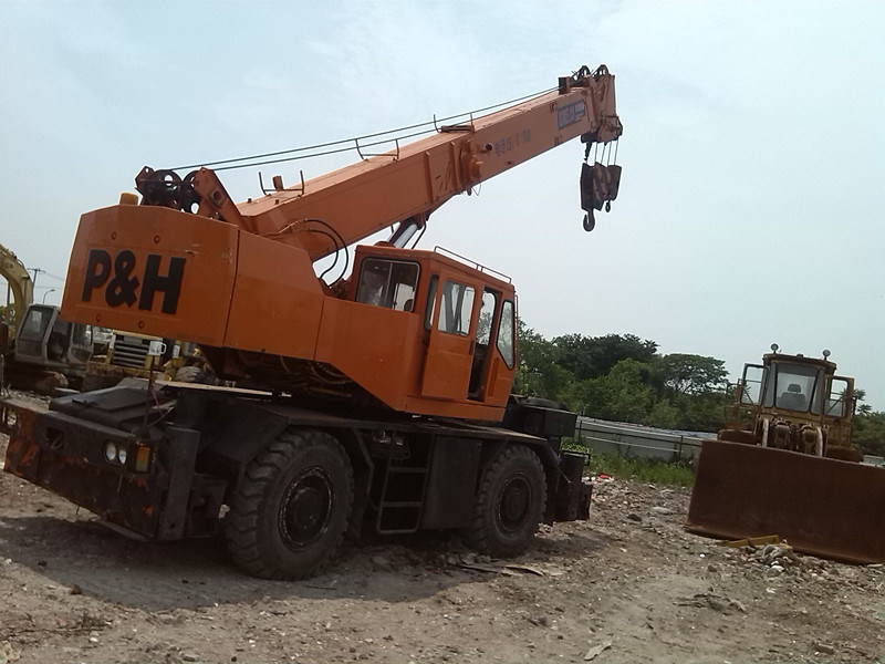 Used Kobelco 25t Rough Crane Rk250 Original Japan