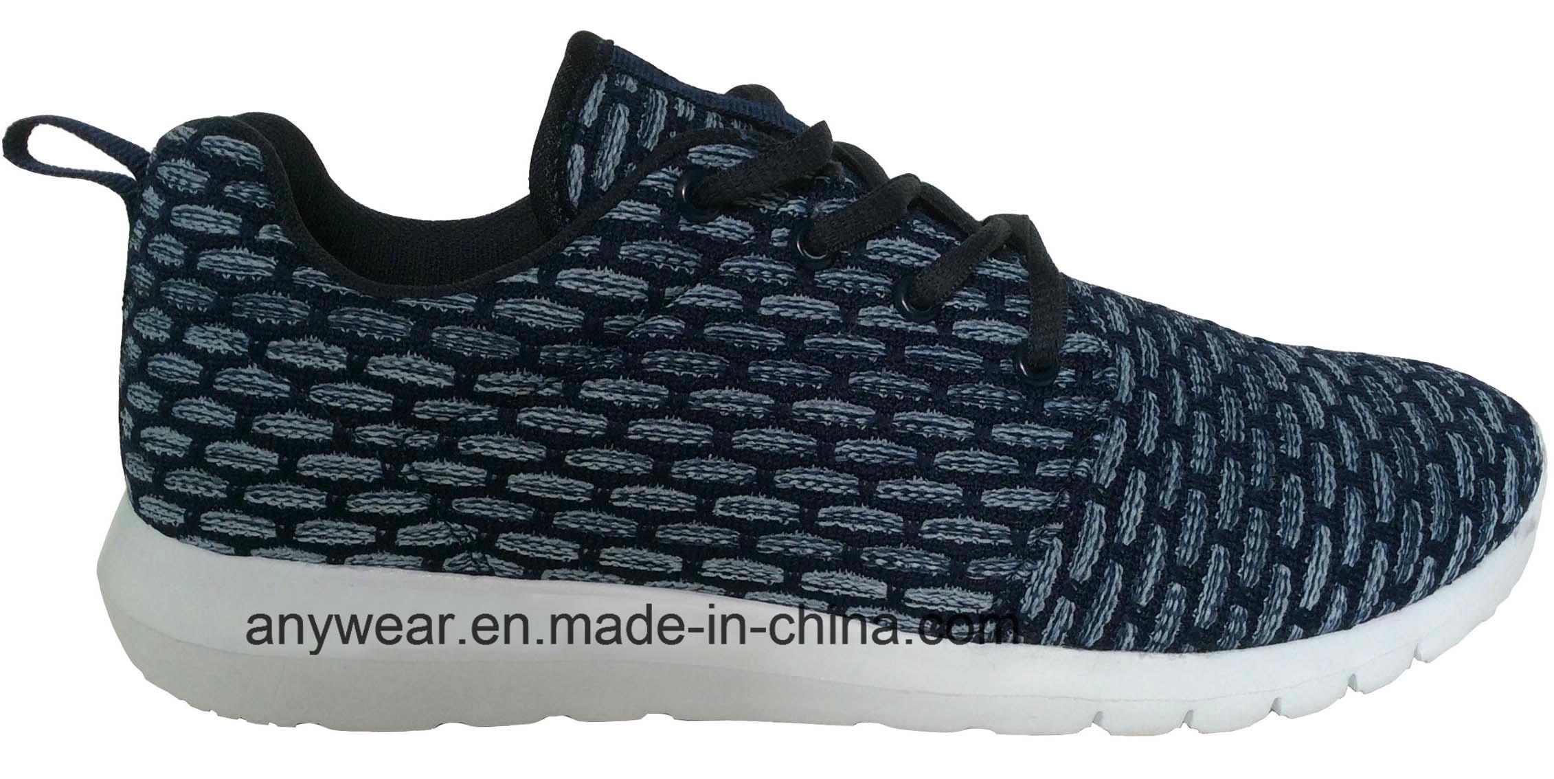 Athetic Men Footwear Comfort Flyknit Sports Shoes (815-7315)
