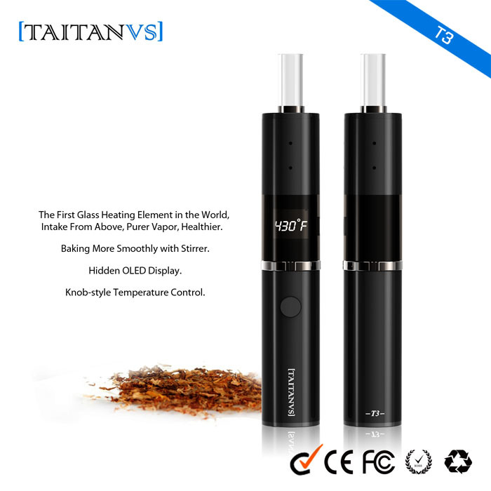 Buddy Vape Mod Electronic Cigarette Herbal E Cigarette Dry Herb Vaporizer