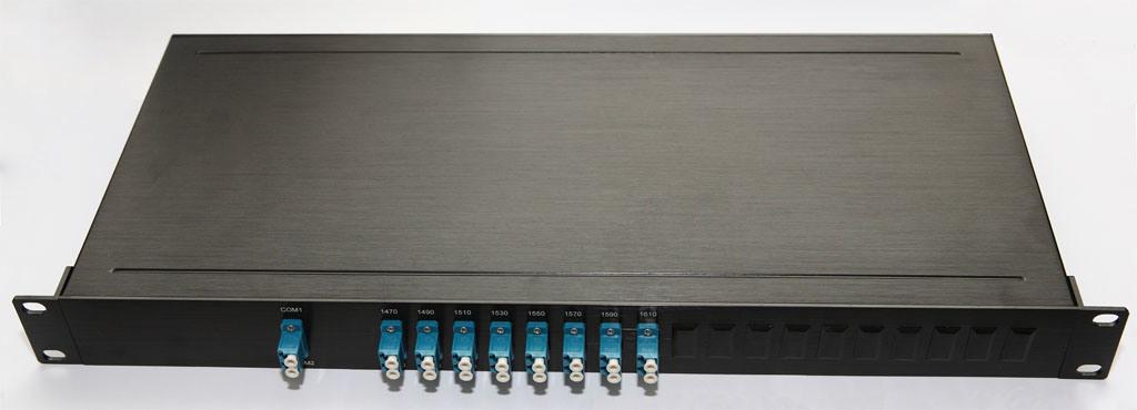 1X8/16/32/64 Multi-Channel Rack Mount Optical Mux/Demux