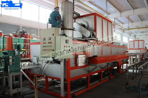 2017 Customized Aluminium Billet Heater with Hot Log Shear for Lowest Consumption