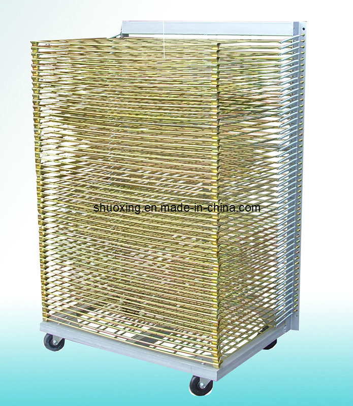 Screen Printing Drying Racks (Stainless steel, powder coating, galvanized)