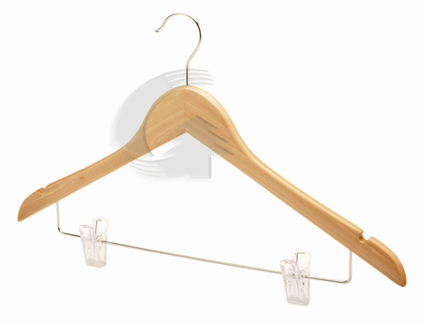 Wooden Hanger for Suit (GDW034)