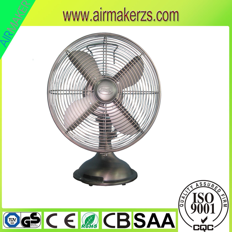 12inch Metal Table Fan /Metal Desk Fan 110V-240V
