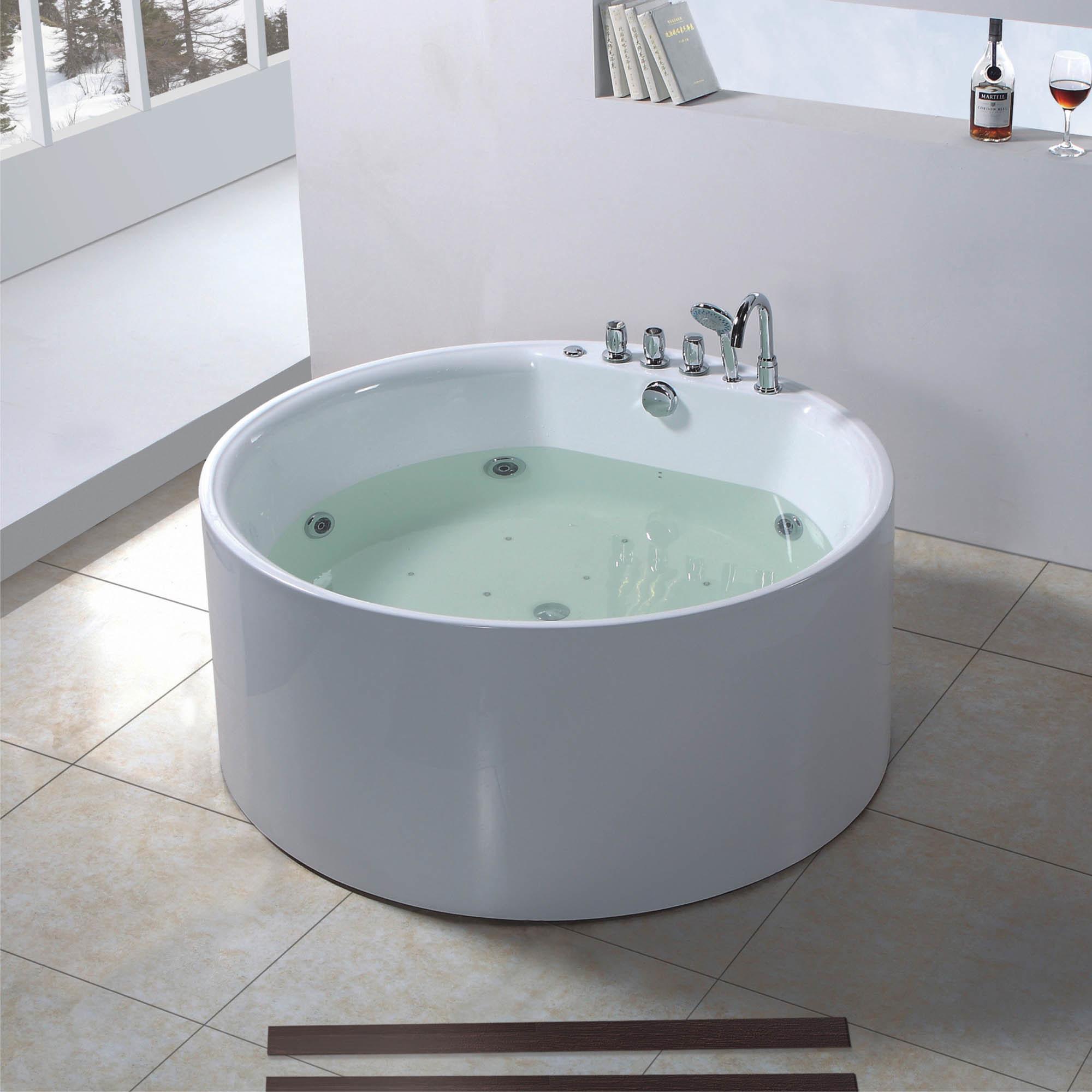 Vasca da bagno della jacuzzi di figura rotonda bf 6627 vasca da bagno della jacuzzi di - Vasca da bagno rotonda ...
