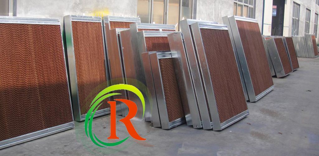 Evaporative Cooling Pad Used in Green and Poultry House with Ce Certificate