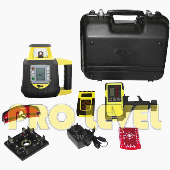 Automatic Leveling Dual Grade Rotary Laser Level (SRE208-2S)
