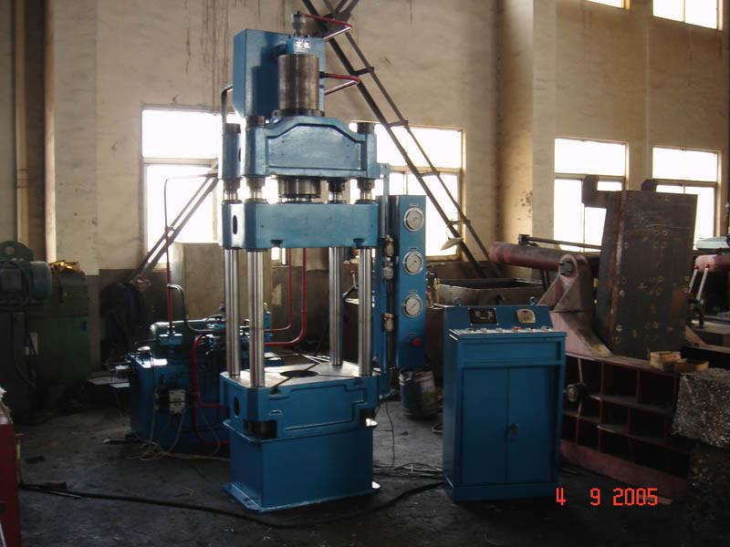 63t Four-Column Small Hydraylic Press Power Machine