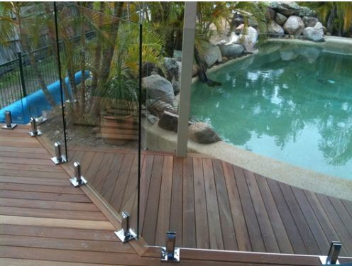 Swimming Pool Toughened Glass with Australian Certificate