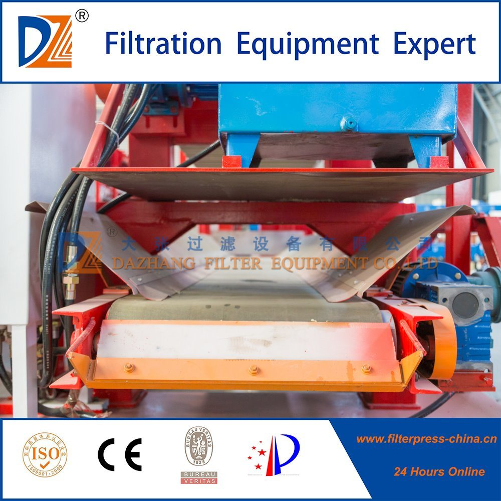 Membrane Filter Press with Trip Tray