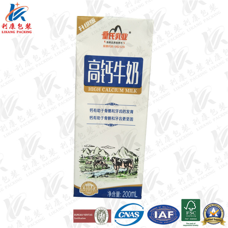 Aseptic Packaging Material for Dairy and Juice