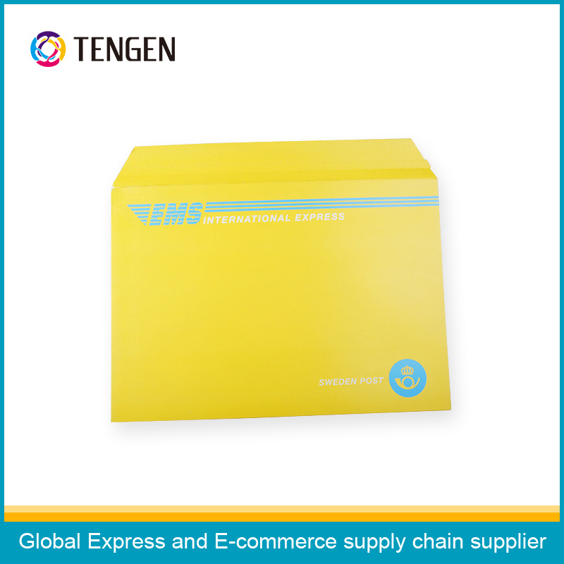 Cardboard File Envelope with Mixed Colors Printing