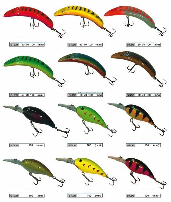 China fishing lure china fishing lure fishing tackle for Different types of fishing lures
