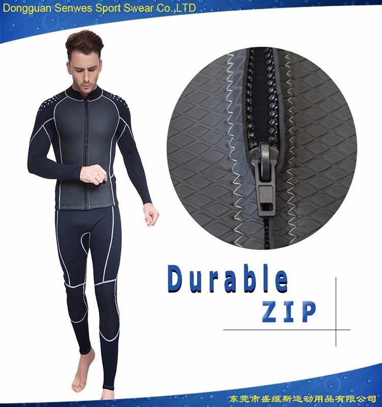 Neoprene Front Zipper Scuba Surfing Wetsuit for Men