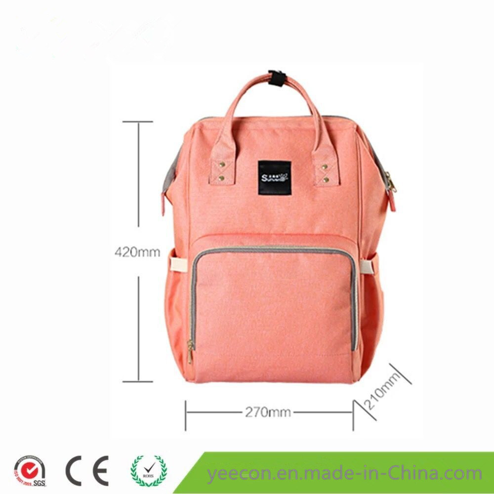 Fashion Multi-Function Oxford Fabric Mummy Diaper Backpack Baby Bag