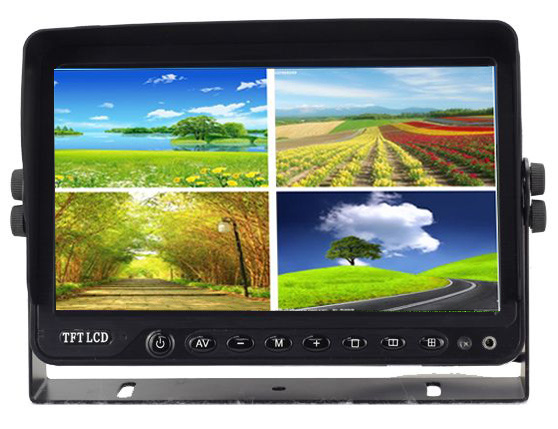 10.1inch Quad Split Car Rear View Backup Monitor