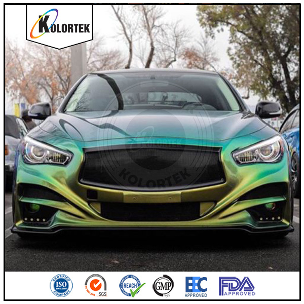 Auto Paint Pigments, Color Shift Effect Pigments Supplier