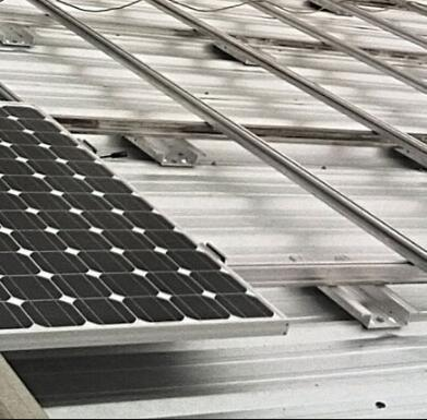 Europe Standard Rooftop Fixed Solar Mounting System