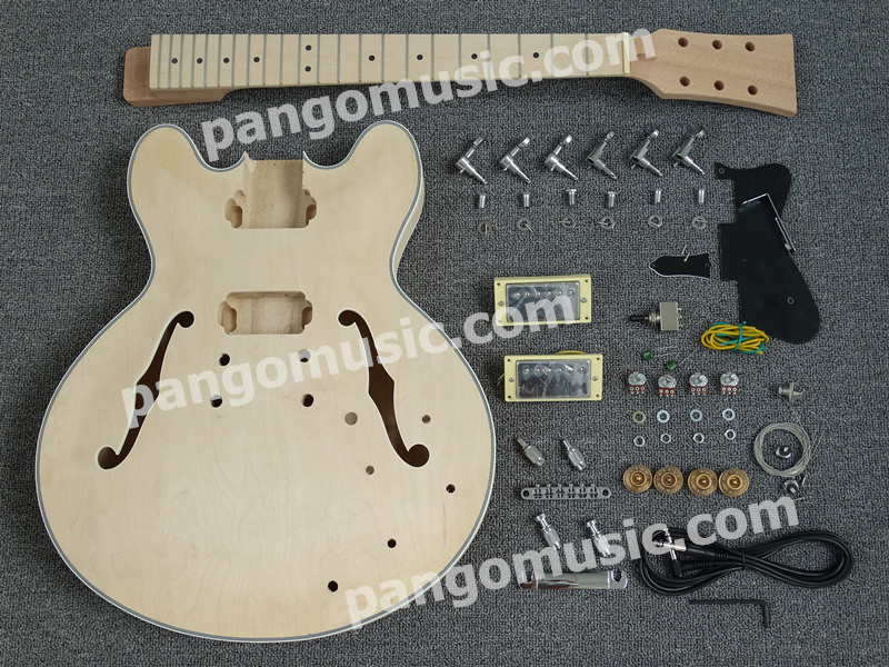 Pango Es335 Hollow-Body DIY Electric Guitar Kit / DIY Guitar (PES-335K)