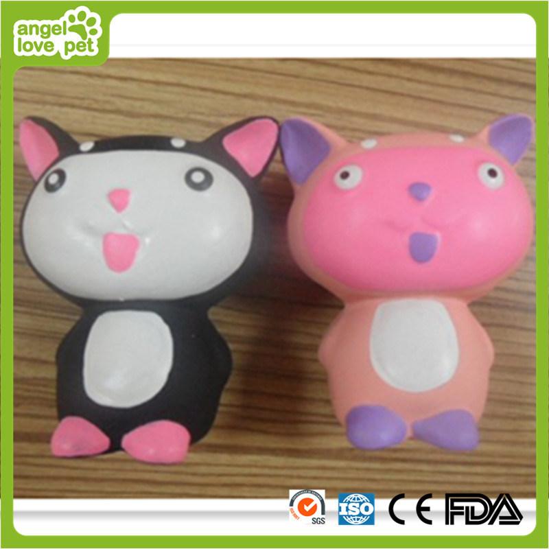 Latex Toy Carton Cat Pet Product