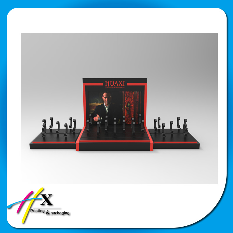 2017 Factory Cheap Custom Logo Fashion Design Acrylic Watch Display for Store