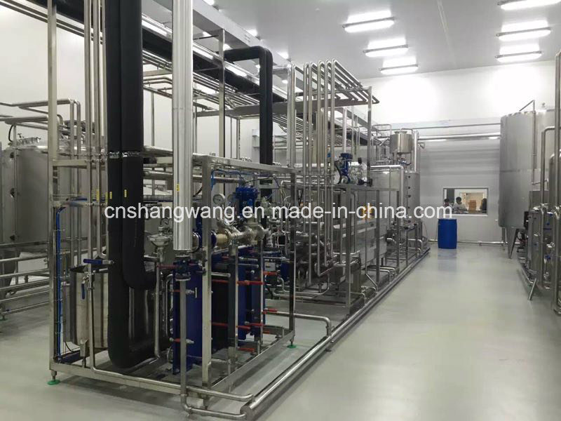 2t/H Pasteurized Milk/Uht Milk Production Line