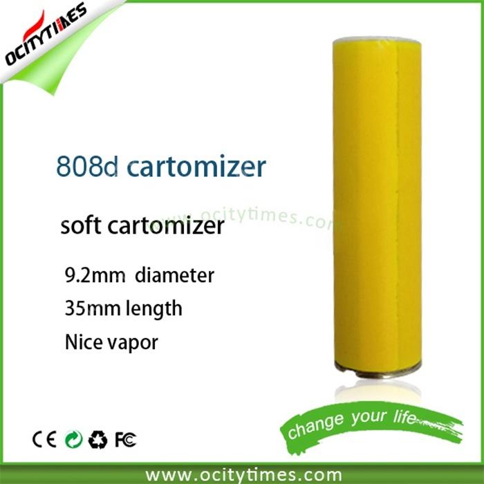 Low Price Wholesle Mini E Cigarette Cartomizer Custom Logo Disposable 808d Cartomizer
