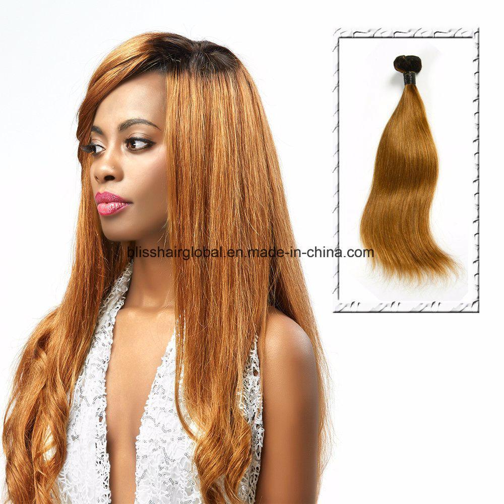 Brazilian Virgin Hair Ot1b-30# Silky Straight 100gram