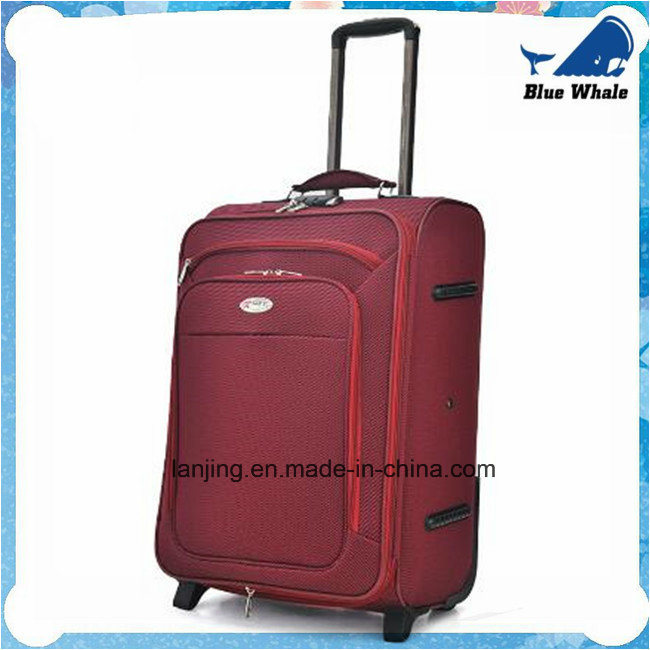 Big Capacity Waterproof Nylon Bag Trolley Wheeled Travelling Luggage