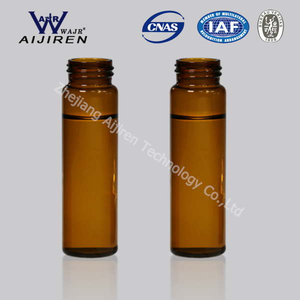 40ml Amber Glass EPA Vial VOA Vial Storage Vial