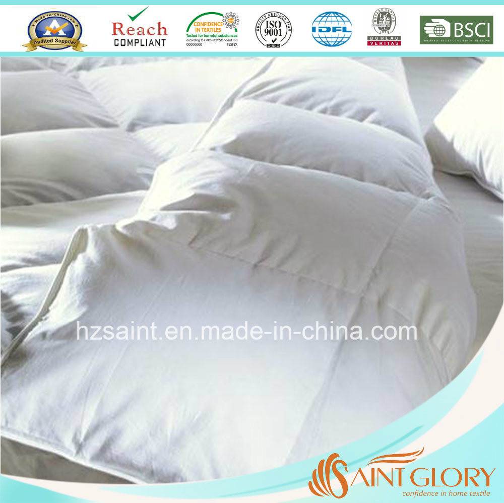 Cheap Down Comforter White Goose Feather and Down Duvet