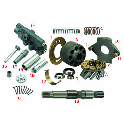 A10vso Pump Hydraulic Piston Pump HA10VSO18DFR/31R-PSC62N00 for Industrial Application