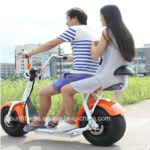 2017 New Design Fat Tire Electric Scooter City Coco with Factory Price
