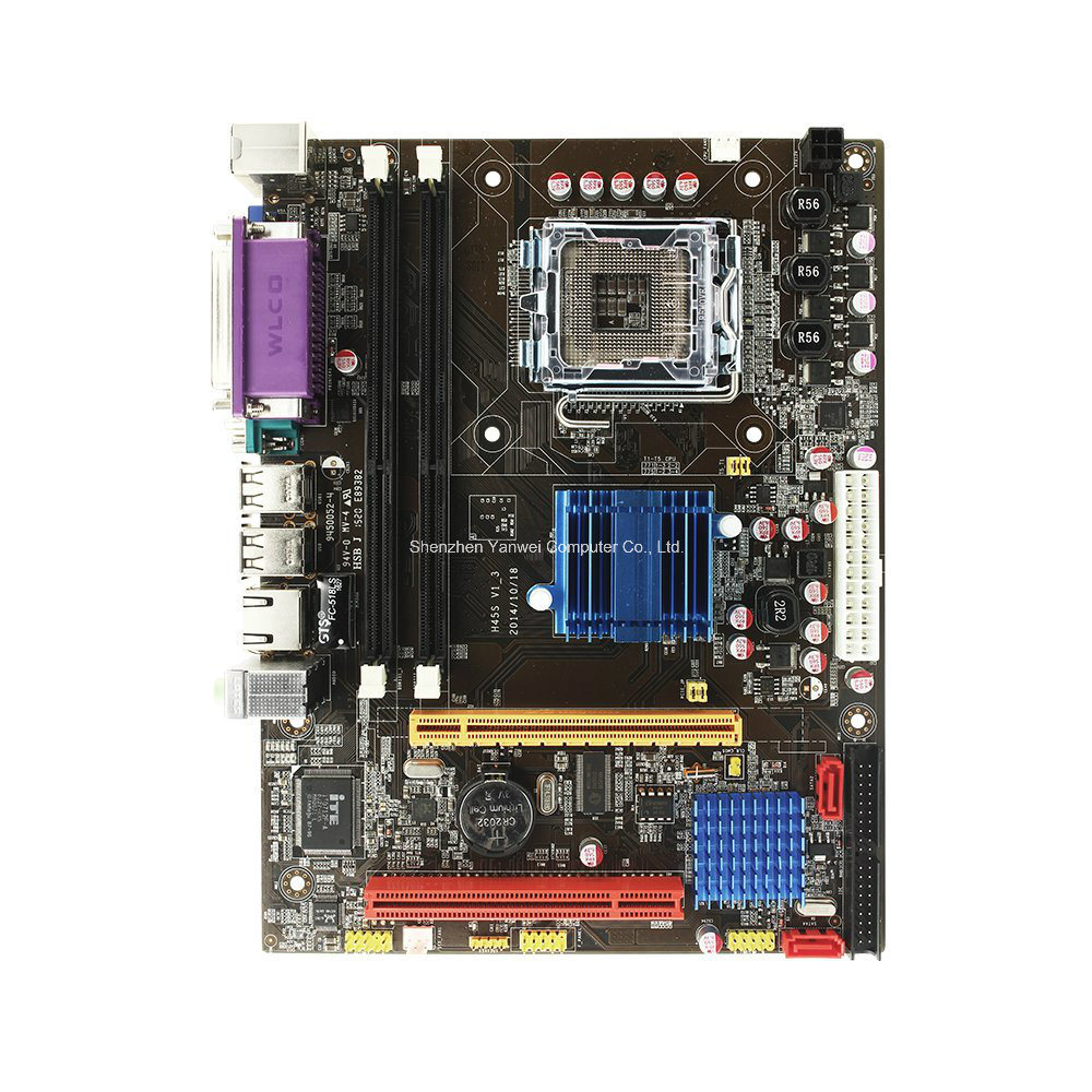 Computer Motherboard GS45 LGA 775 2*240ppin DDR3