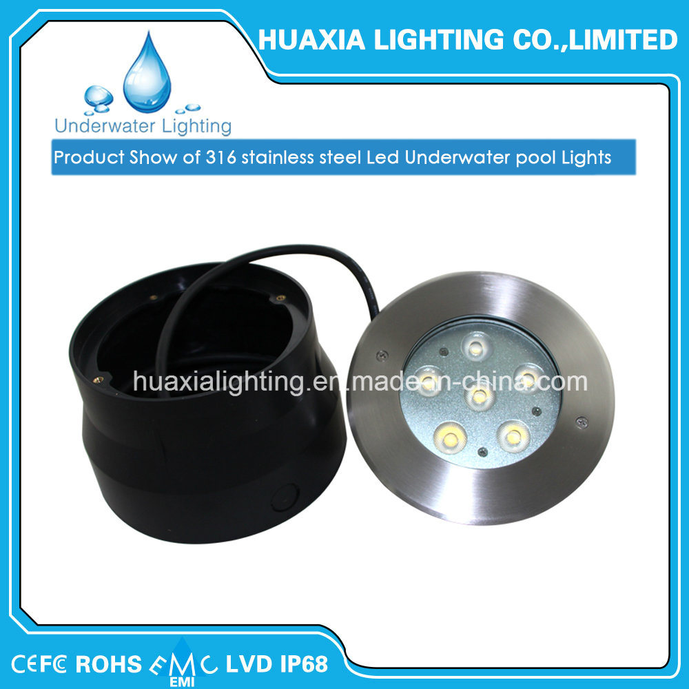 IP68 18W LED Inground Light Round LED Spot Light