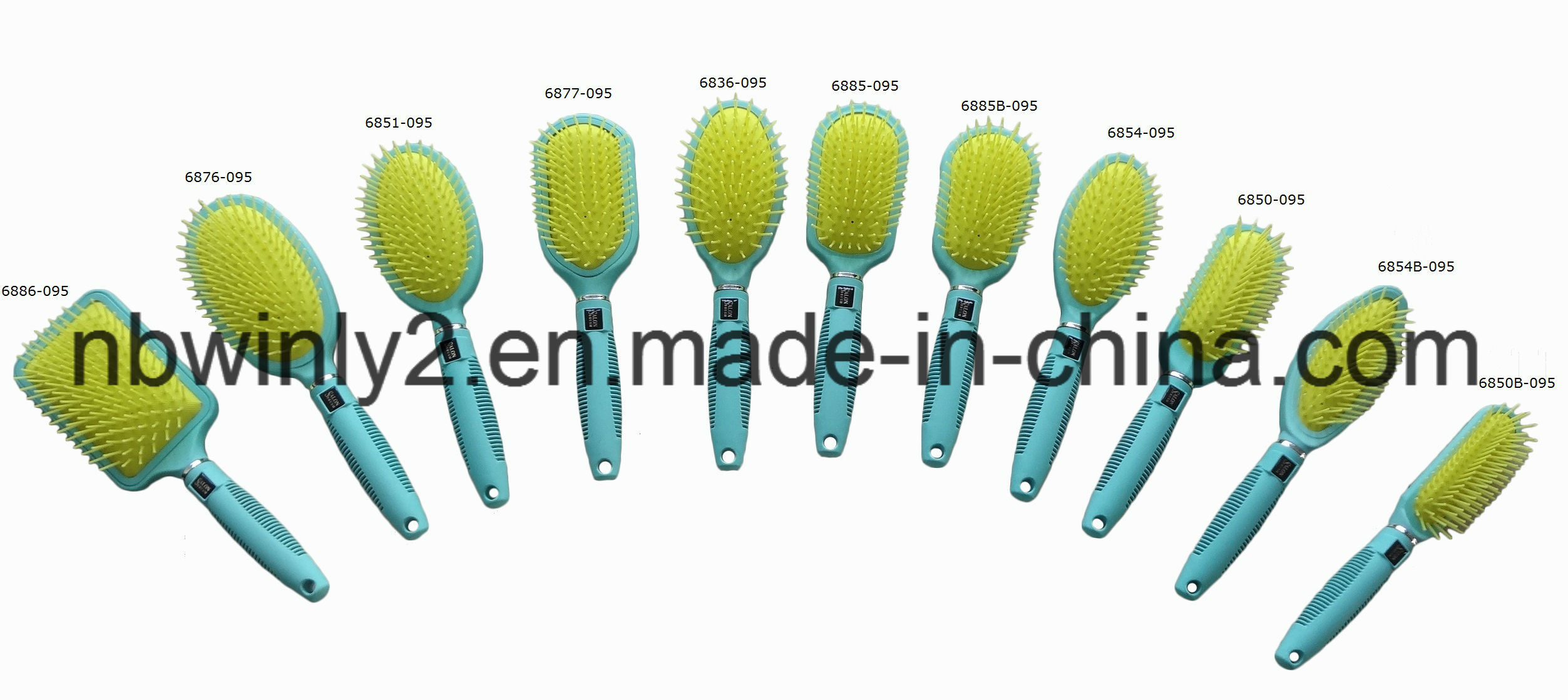 Soft Sticker for Logo on The Hair Brush