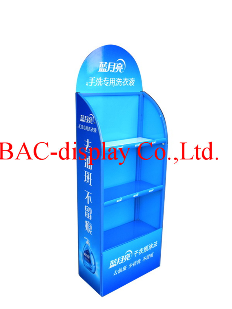 Supermarket Laundry Detergent/Detergent/Cleaning Product Metal Display Rack