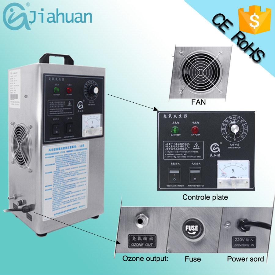 3G/H Portable Quartz Tube Carona Discharge Ozone Generator Ozonizer