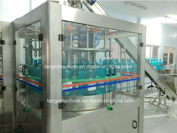 2400bph 2000bph 1500bph 5gallon Barrel Washing Filling Capping Bottling Equipment Complete Production Line