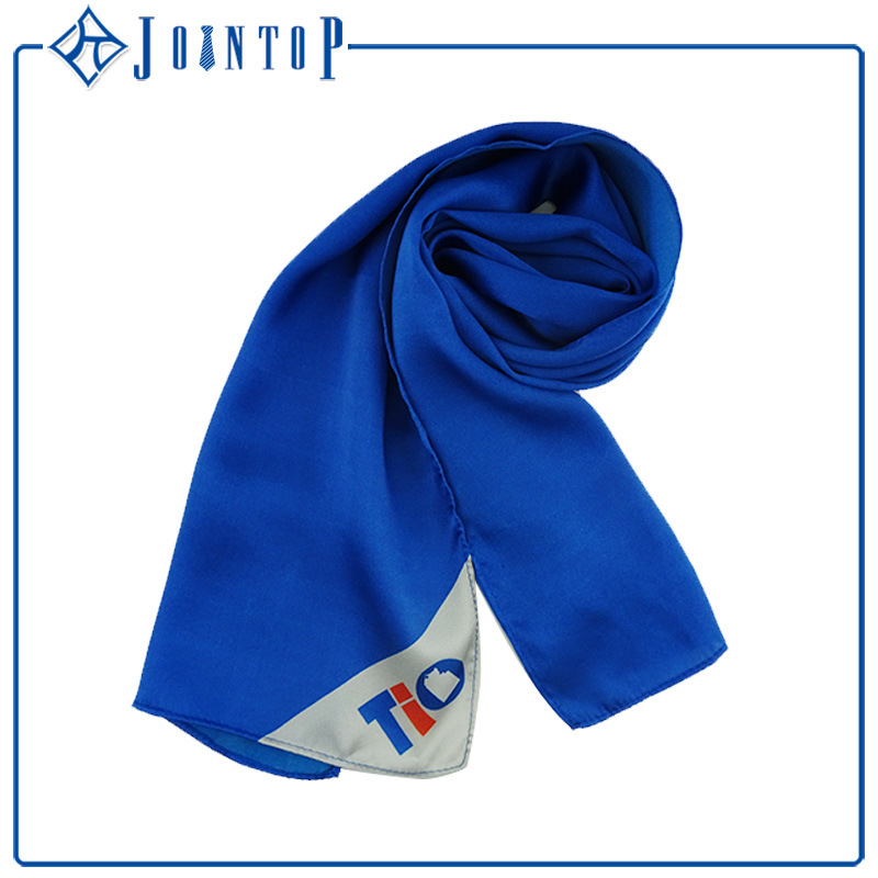 100% Silk Custom Printed Silk Scarf on Sale